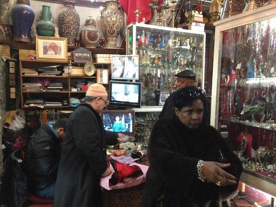 Medina von Marrakesch: Crafts Store