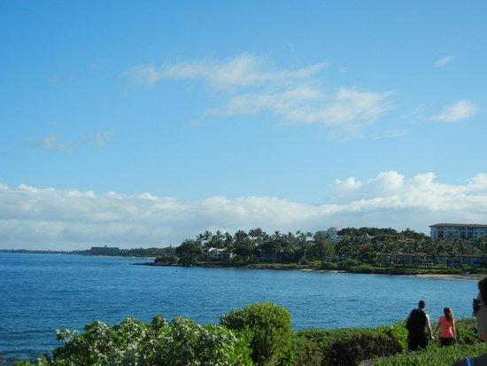 Fairmont Kea Lani, Maui : Ocean view from Makena Road