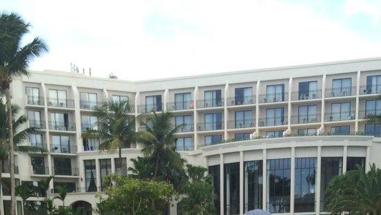 Margaritaville Vacation Club Wyndham Rio Mar: view from the beach