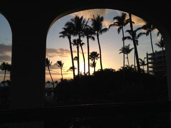 Fairmont Kea Lani, Maui: View from lounge