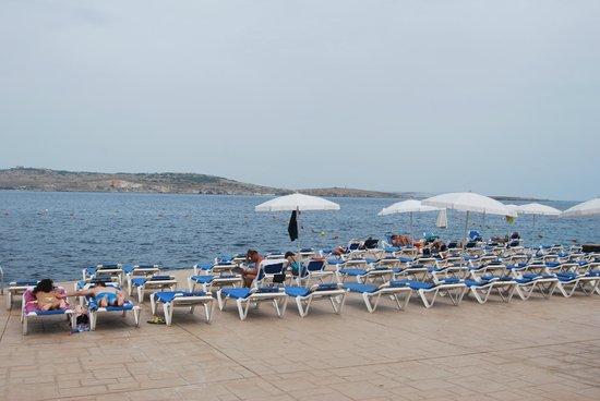 Dolmen Hotel Malta : Dolmen beach