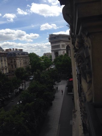 Hôtel Cécilia Paris Arc de Triomphe : Arc de Triomphe