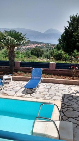 Meganisi Villas: View from the Pool
