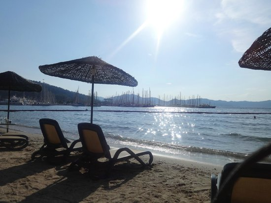 TUI BLUE Marmaris: View from the sun loungers