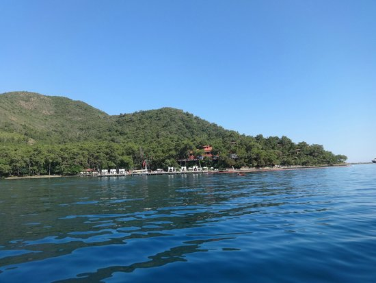 TUI Sensimar Marmaris Imperial Hotel : View of Hotel from boat trip