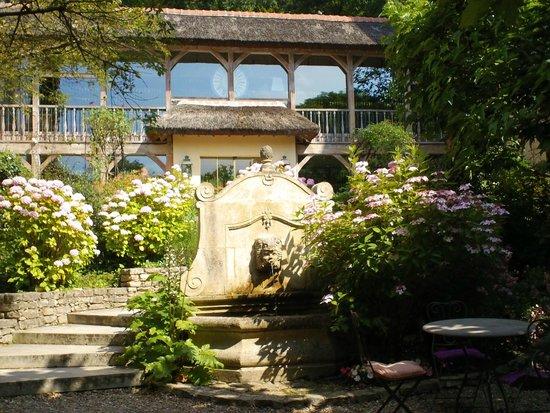 Les Etangs de Corot : Jardin intérieur