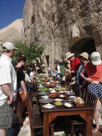 Kelebek Special Cave Hotel: organic breakfast