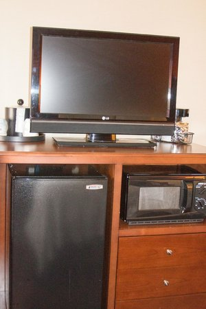 Hampton Inn St. George: TV/Mini Fridge and Microwave