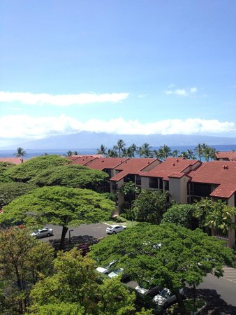 Aston Kaanapali Shores: view from room