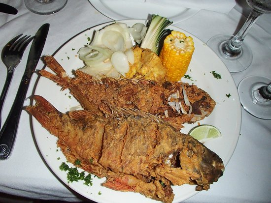 Cofresi Palm Beach & Spa Resort : Whole Fish from El Pilon