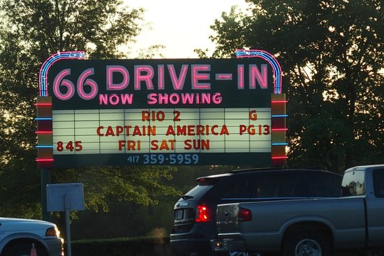 66 Drive-In Theatre: Double feature