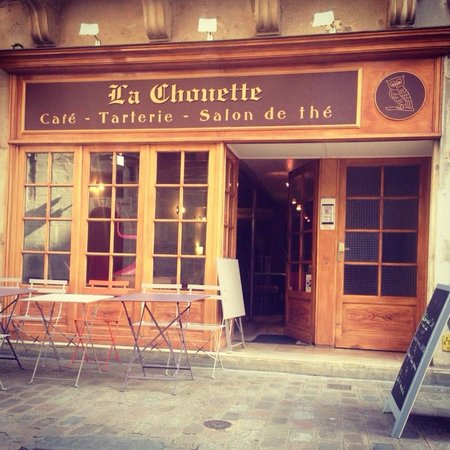 Morning coffee at La Chouette