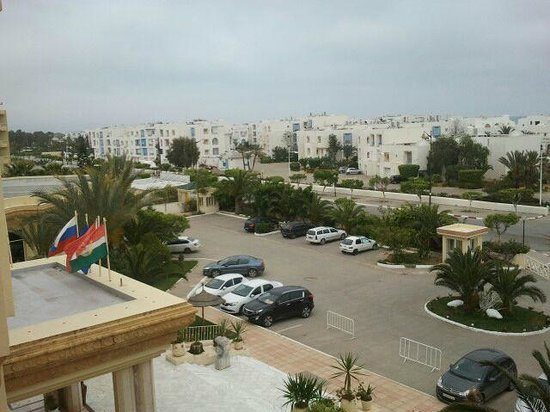 Marina Palace: view from room