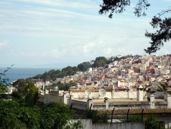Tangier Casbah : No one can fight a view.
