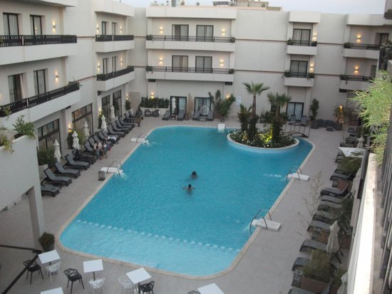Kech Boutique Hotel & Spa : Pool by day