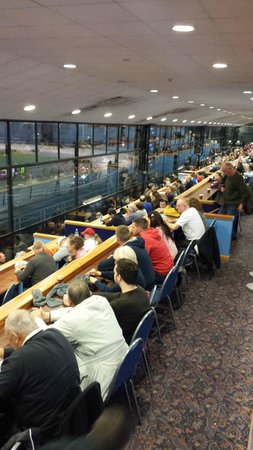 Wimbledon Greyhound Stadium: inside seating