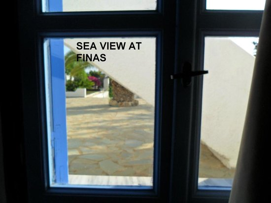 Finas Hotel Apartments: my balcony with sea view for 60 EUR a night