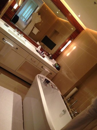 The Ritz-Carlton Abu Dhabi, Grand Canal : amazing bathroom