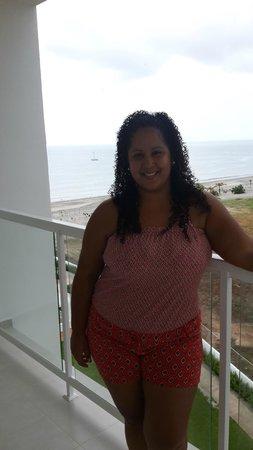 Hotel Riu Playa Blanca: Muy buena vista!