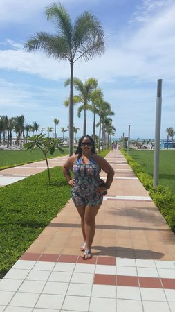 Hotel Riu Playa Blanca: Las vistas maravillosas