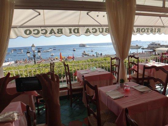 Restaurant Buca di Bacco: Vista sensacional