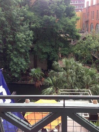Hotel Valencia Riverwalk : Balcony View