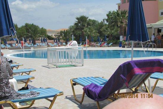 Alykanas Beach Apart-Hotel: Pool view