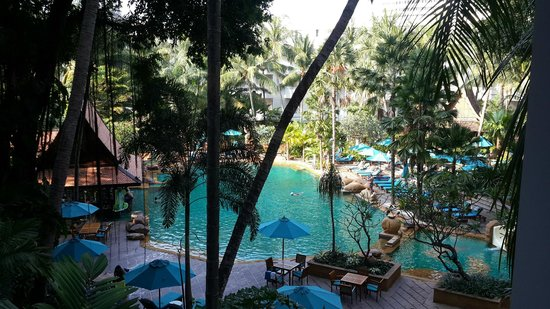 AVANI Pattaya Resort & Spa: view from our balcony