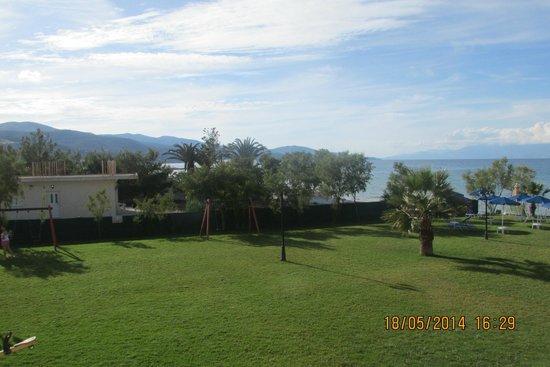 Alykanas Beach Apart-Hotel: View from room 338