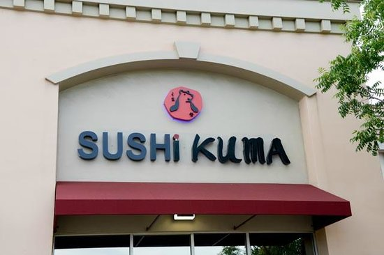 Sushi Kuma: View from the front