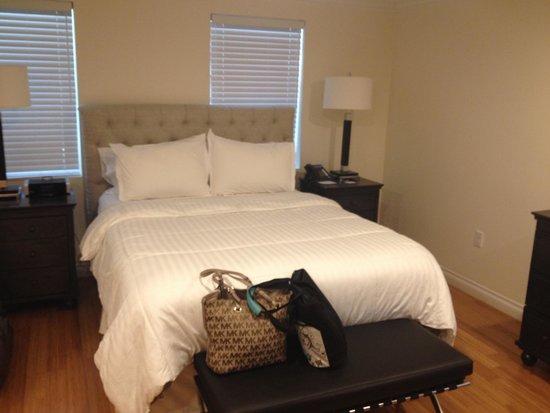 Bricco Suites: Comfy bed
