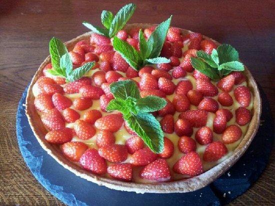 Chez Genevieve : Tarte aux fraises