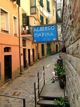 Albergo Marina : Hotel front