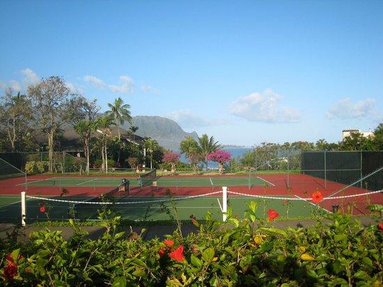 Hanalei Bay Resort: Tennis courts