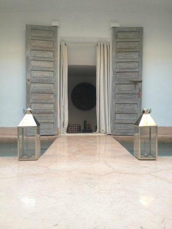 Riad de Vinci: Entrée d'une chambre