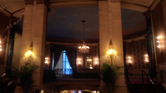 The Roosevelt Hotel: ball room