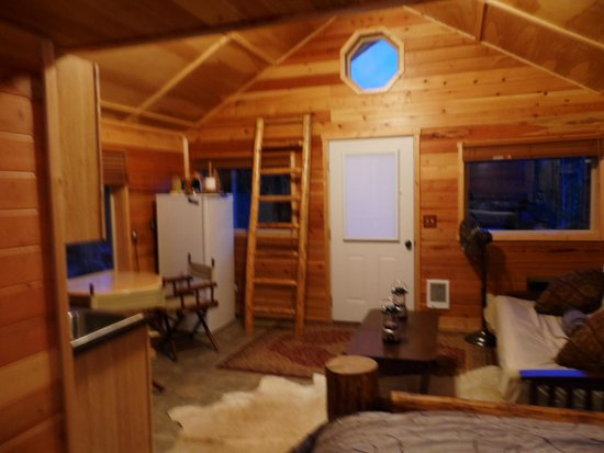Glacier Under Canvas : Cabin Interior