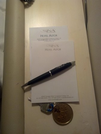 Hotel Astor Viareggio: block notes