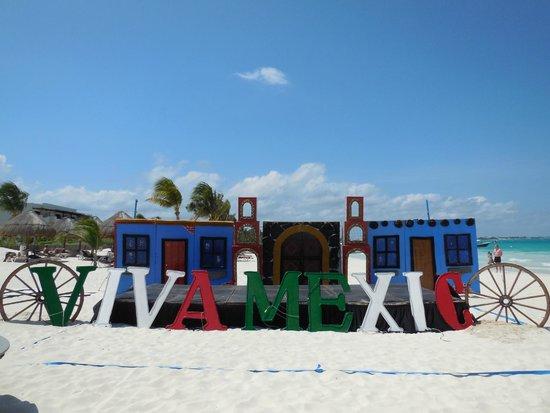 Secrets Maroma Beach Riviera Cancun: Dinner on beach