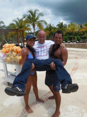 Secrets Maroma Beach Riviera Cancun: Ceasar & Gabriela