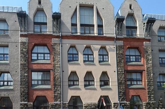 Radisson Blu Elizabete Hotel: Jugendstil lyceum van Riga
