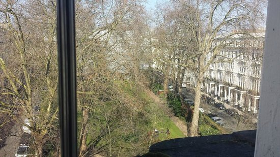 Kensington Gardens Hotel: View from the room