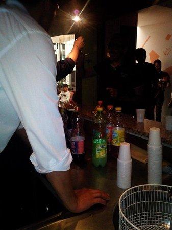 Hotel Miramare: Open bar grazie luca