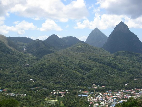 Pitons from a distance