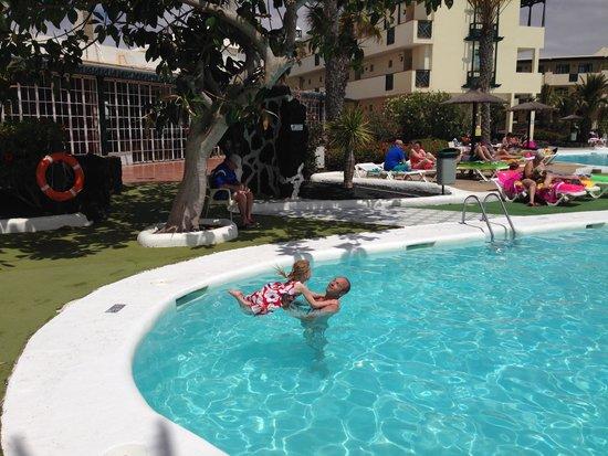 Apartamentos El Trebol: Forfeit for losing at darts kids and adults alike lol
