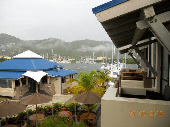 Moorings Mariner Inn Hotel: Balcony view
