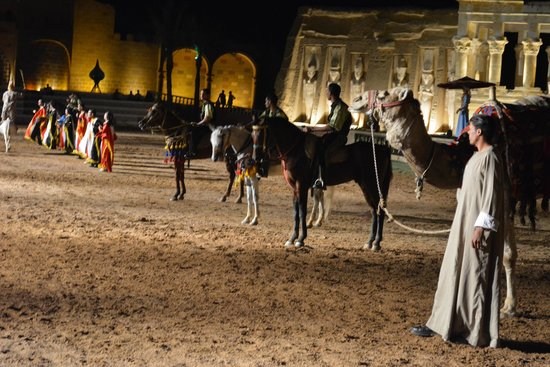 Fantasia - Alf Leila Wa Leila : horse show