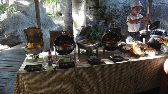 Sarikantang Resort & Spa : ontbijt