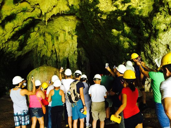 Cueva Ventana : Our group