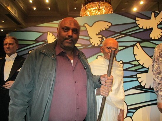Madame Tussauds London: Come on Ghandy